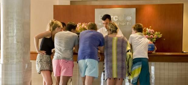Turistas extranjeros en España