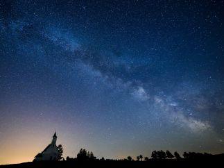 Una bella Vía Láctea