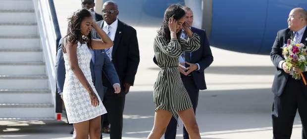 Las hijas de Barack y Michelle Obama