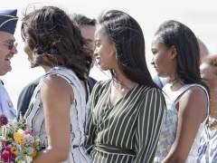 Las hijas de los Obama, de compras por Madrid