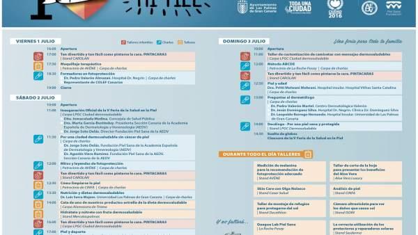 Programa Feria de la Salud de Las Palmas de Gran Canaria