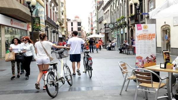 Calle Triana de Las Palmas de Gran Canaria