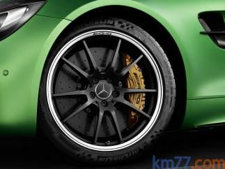 Las llantas del Mercedes-AMG GT R