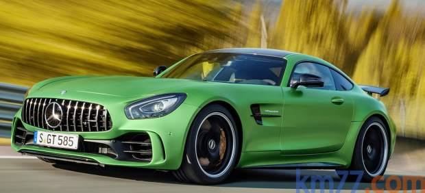 Aerodinámica delantera del Mercedes-AMG GT R
