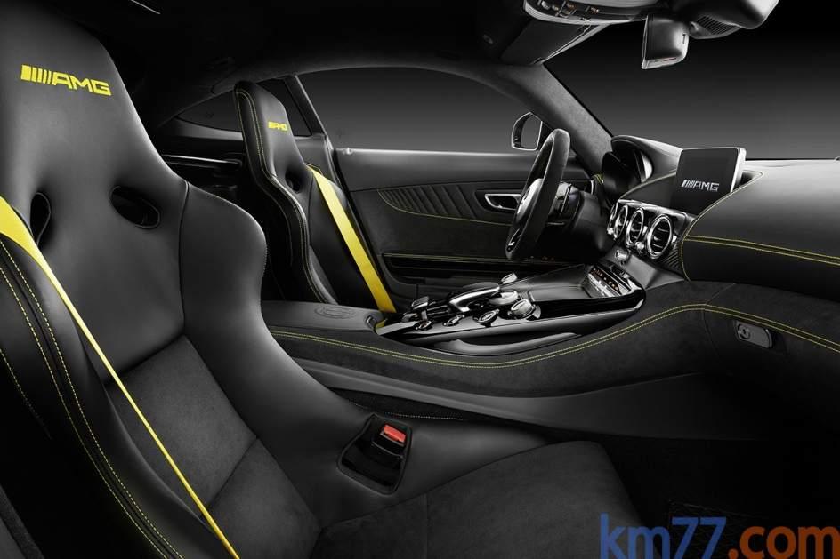 Aspecto interior del Mercedes-AMG GT R