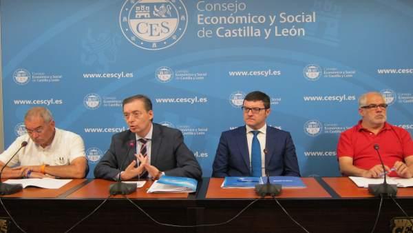 Presentación informe del CES