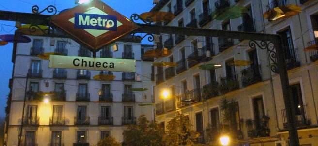 La madrileña plaza de Chueca