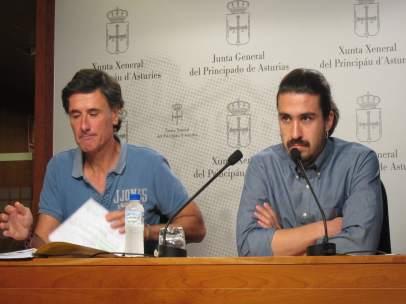 Enrique López y Andrés Vilanueva