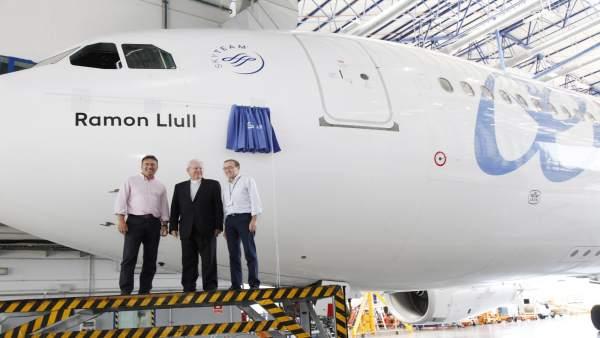 Avión Ramon Llull de Air Europa