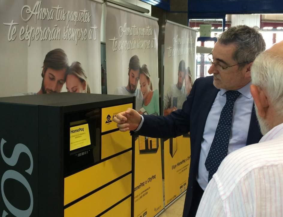 Correos instalar en valladolid m s de 100 terminales de for Oficina de correos valladolid