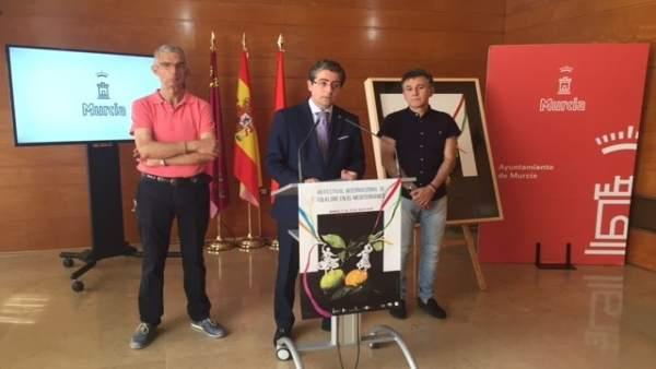 Presentación del Festival Internacional de Folklore en el Mediterráneo