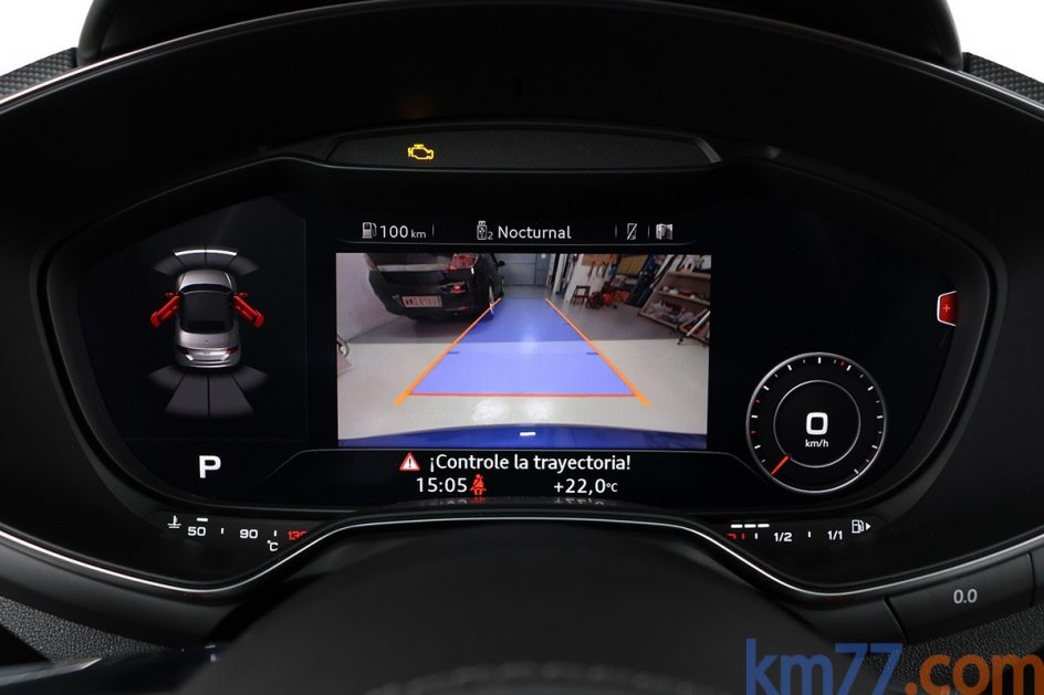 Imagen del cuadro de instrumentos del Audi TTS Roadster 2.0 TFSI de 310 CV