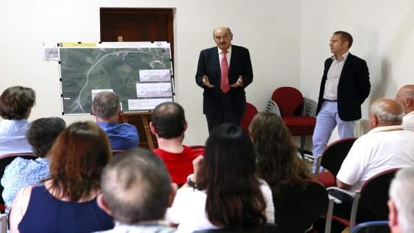 Presentación del proyecto de acceso a Riosapero