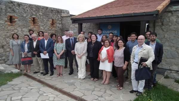 Inauguración de los cursos en la sede de Suances