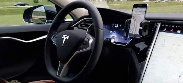 Tesla accidentado