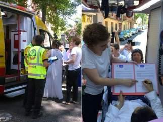 Boda en una ambulancia