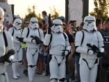 Soldados de la Legión 501 desfilando