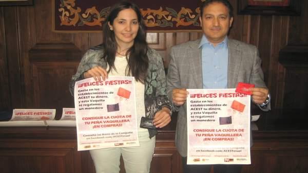 Presentación de la campaña de la Asociación de Comerciantes de Teruel.