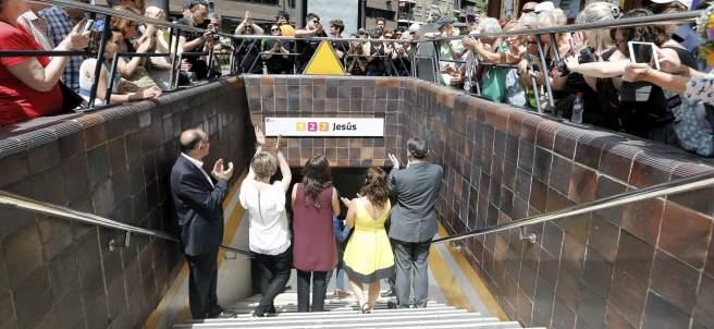 Cambio de nombre a la estación de Metro de Valencia