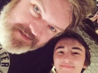 Hodor y Bran Stark