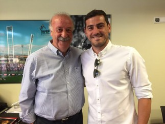 Casillas y Del Bosque