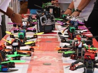 Drones a la espera