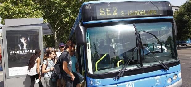 Autobús Atocha-Sierra de Guadalupe