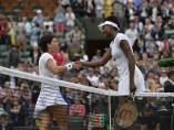 Venus Williams y Carla Suárez