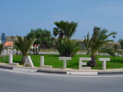 Playa de l´Altet, en Elche