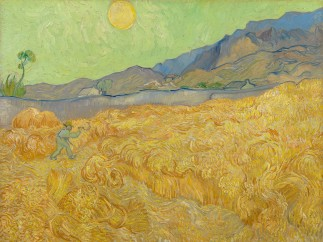 Vincent van Gogh, Wheatfield with a Reaper, 1889