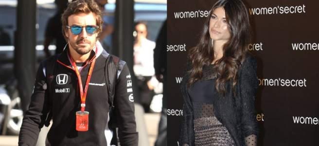 Fernando Alonso y Linda Morelli