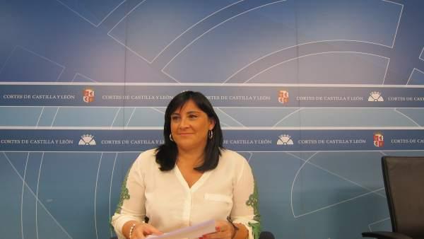 La secretaria de Organización del PSCyL, Ana Sánchez
