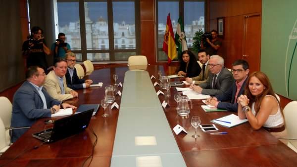 Reunión del Clúster Marítimo Naval de Cádiz