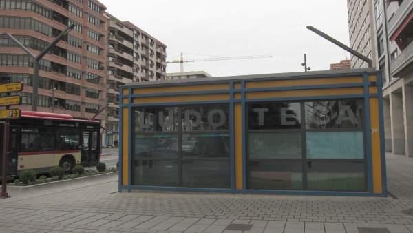 Imagen de la ludoteca 'El trenecito' de Logroño