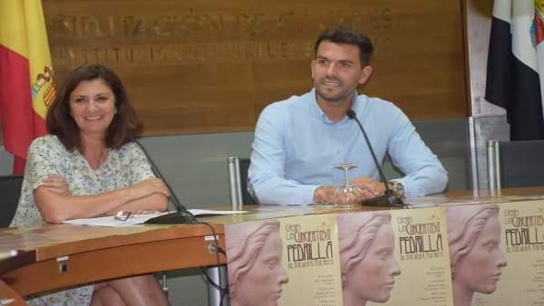 Presentación de Los conciertos del Pedrilla en Cáceres