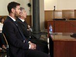 Messi y su padre, condenados