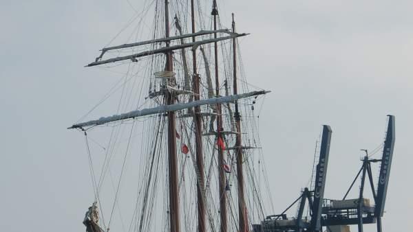 El 'Juan Sebastián de Elcano' regresa a Cádiz tras su Crucero de Instrucción