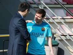 Messi adelanta su vuelta de vacaciones y se incorpora al Barça