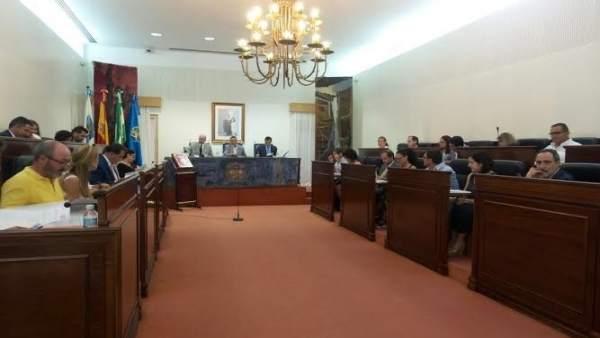 Pleno de Diputación de Huelva correspondiente al mes de julio.