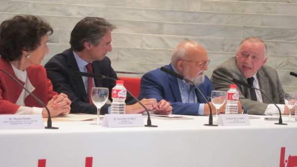 Presentación del encuentro con Penderecki