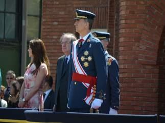El Rey Felipe VI en la Academia del Aire de León. Julio 2016