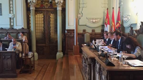 Pleno ordinario del mes de julio en el Ayuntamiento de Valladolid