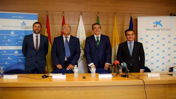 San Juan de Dios y Obra Social 'la Caixa' firman un convenio de obras sociales