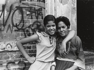 Among the last residents, mother and daughter, East 173rd Street. 1976-1982