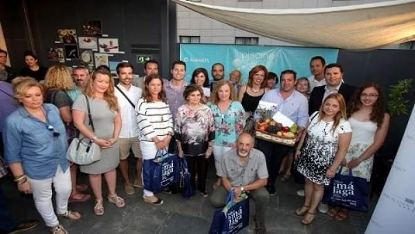 Entrega de premios del concurso Málaga se come