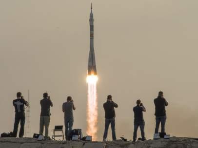 Lanzamiento de la nueva Soyuz
