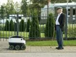 El robot de comida a domicilio ideados por Starship Technologies.