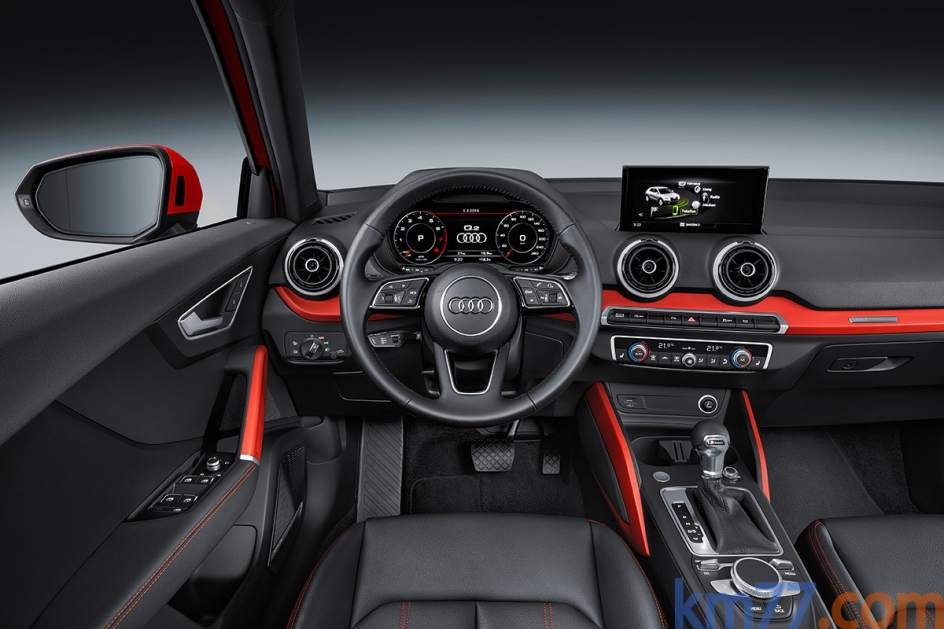 Aspecto interior del Audi Q2