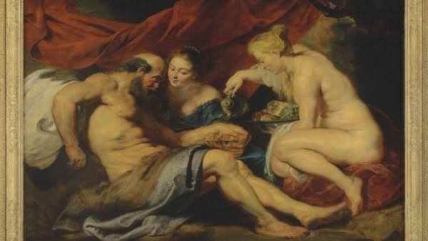 'Lot Y Sus Hijas', De Rubens.