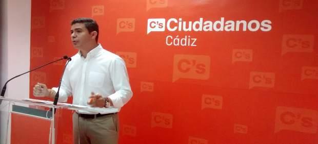 Sergio Romero en rueda de prensa en Cádiz